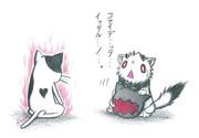 エラー猫vsオコジョ北方棲姫