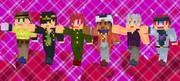 【Minecraft】ジョジョスキン