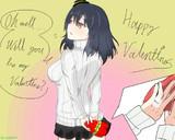 バレンタインデーな山城さん。
