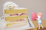 誕生日ケーキを作る春香ちゃん