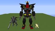 【minecraft】サイコガンダムを作ってみた【jointblock】
