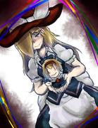 魔理沙、アリス愛に目覚める。
