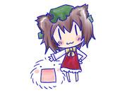 毛玉(橙付)
