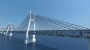 櫃石島橋をMinecraftで再現