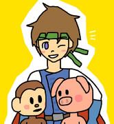 勇者と猿と豚