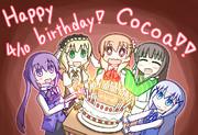 ココアさん誕生日絵