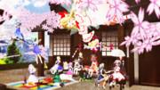 博麗神社花見祭