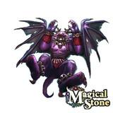 ガーゴイル 敗北絵(Magical Stone)