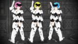 【モデル配布】FA:G 轟雷 Monotone Form【MMD】