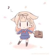セーラー服!ぽいぬちゃん!