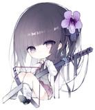 刀ちゃんシリーズ -紫-