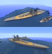 戦艦大和 実寸再現