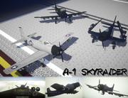【MCヘリ】A-1 スカイレイダー