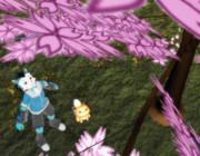 ロウときちゅねの花見