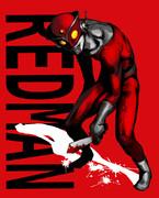 赤いヒーロー