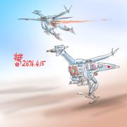 日本空軍空陸両用MS