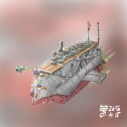 大型超小型空母型MA「エルエルメス」級