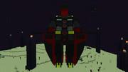 【minecraft】サイコガンダムを完成させてみた【jointblock】