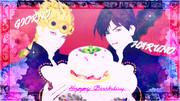 【ジョルノ&ハルノ】Happy Birthday ! 【ジョジョ】