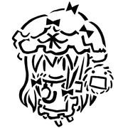 トートバッグ用毛玉(ゆかりん付)
