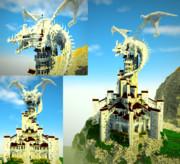 【Minecraft】聖獣オルタンスの塔