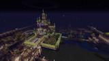 【Minecraft】PS4で街作り中!!!!  お城③  夜