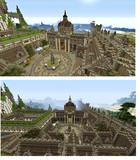 【Mineclaft 】PS4で街作り中!!! 駅