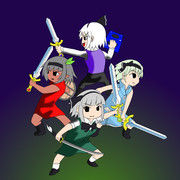 4つの剣☆