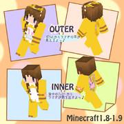 【Minecraft】猫ver1.8~使用可能♪【スキン】