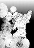 """バンド""""オリンパス""""のドラム担当"""