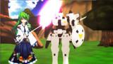 【東方MMDクロスオーバー祭】 早苗と謎の動く機械