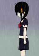 雨ハ止マズ