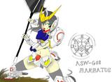 バルバトス擬人化(戦闘シーン)