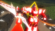 【東方MMDクロスオーバー祭】赤い服の巫女と赤い機械