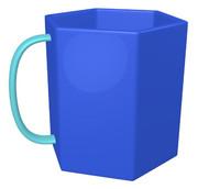 六角形のマグカップ