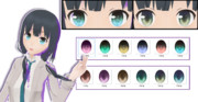 【MMD】目のためのテクスチャ