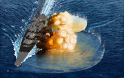 戦艦大和対地艦砲射撃訓練