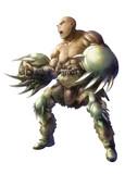 ベアークローシールドの戦士