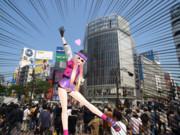 カイ式piggyさん、渋谷に歓喜