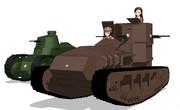 日本戦車隊の夜明け