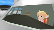 紺子飛行機離陸シーンリニューアル中