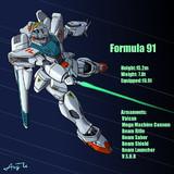 F91ガンダムは、シーブック・アノーでいきます!