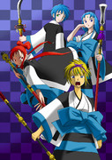 薙刀の女傑共