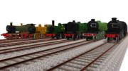 MMD英国の蒸気機関車たち