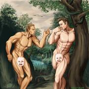【ニコ百カードゲーム】アダムとアダム