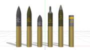 75mm 砲弾セット 米国用