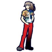 オシャンティなTシャツを着た熊野