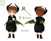 【MMD-OMF6】マレフィキウム【モデル配布】