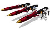 【MMD-OMF6】プラズマダイバーミサイル