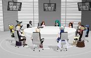 四天王の会議